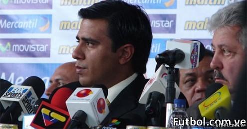 Rueda de Prensa de presentación de César Farías como seleccionador nacional de Venezuela en Fútbol - Foto: FutbolReport.com