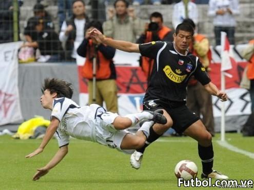 Colo Colo Vs Liga de Quito - Foto: AFP