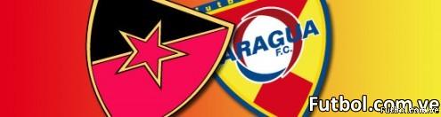 Estrella Roja Vs Aragua FC - Imágen: fútbol.com.ve