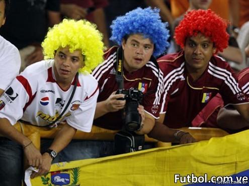 Aficionados venezolanos - Foto: Reuters