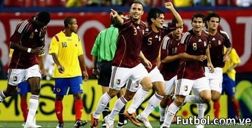 Venezuela le vuelve a ganar a Colombia: ya le había ganado 2-0 en eliminatoria.Foto: AFP