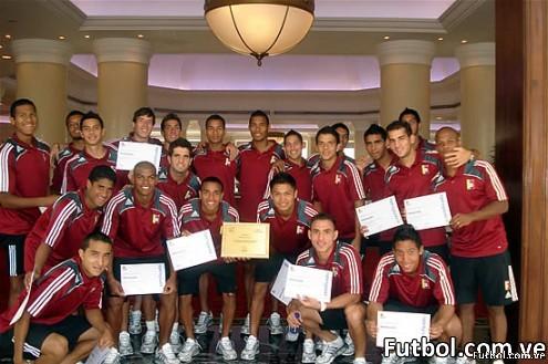 Selección Venezuela de Fútbol Sub-20. Foto: Prensa FVF