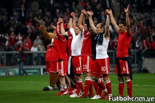 Bayern se llevó la ida de semis de champions ante el lyon 1-0