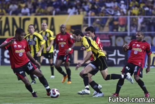 Caracas F.C derrota a deportivo tachira 1-0 y se hace lider del torneo