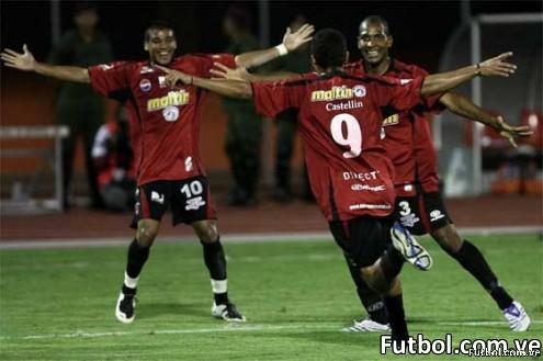 CFoto correspondiente al encuentro de Caracas F.C y Zamora.