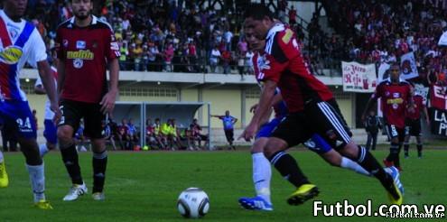 Yaracuyanos venció al Caracas FC en el torneo Apertura 2010. Foto: Stam Ochoa / Caracas FC