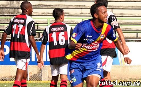 El Club Deportivo Lara sacó un empate en un complicado partido con el Aragua FC