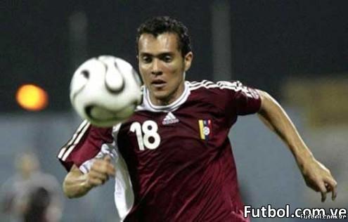 Juan Arango (VEN) convirtió los 2 goles quehizo Venezuela ante México de tiro libre. Una gran noche para el venezolano. Foto: Agencias