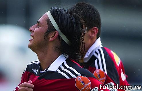 La Pulga Gómez dio el triunfo al Caracas FC