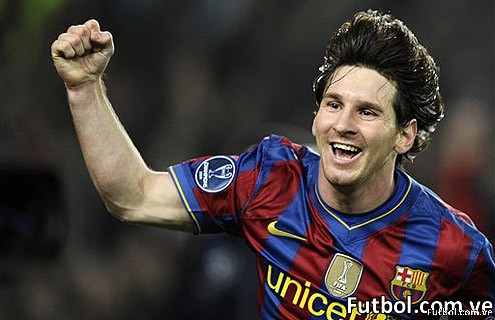 Messi se impuso a sus compañeros Xavi e Iniesta