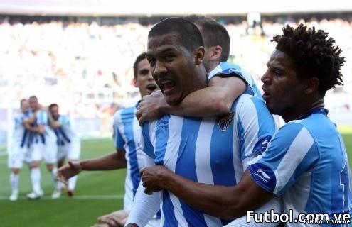 Rondón ya suma 12 goles con el Málaga