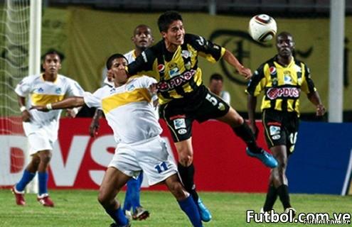 Caroní ganó con los tantos de Mauricio Murillo y José Félix Gutiérrez