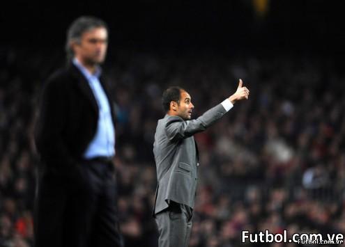 José Mourinho y Josep Guardiola. El dúo de Josés que se enfrentará 4 veces durante el primer semestre de 2011.