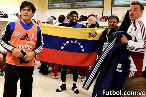Los venezolanos llegaron la tarde de este lunes a su cuarta parada en la justa de selecciones americana