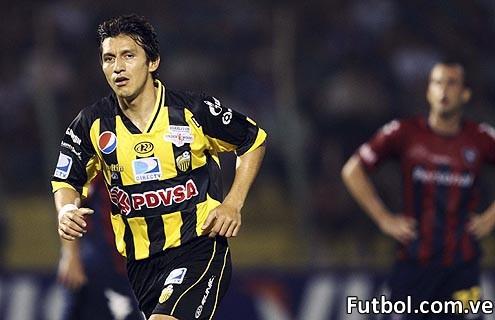 Sergio Herrera con la camiseta aurinegra