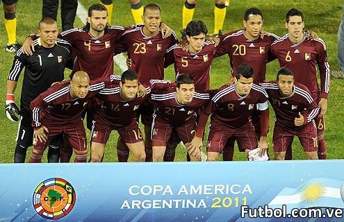 La Vinotinto en la Copa América 2011