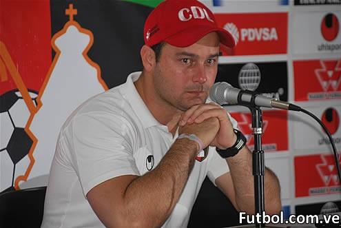 Eduardo Saragó, Director Técnico del Club Deportivo Lara. Foto: Prensa Deportivo Lara