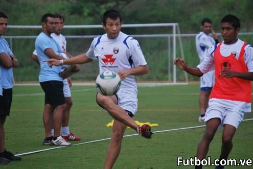 Deportivo Lara entrenando. Foto: Prensa Deportivo Lara