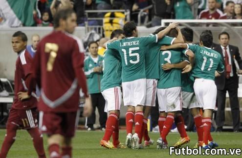 La Vinotinto cayó derrotada este miércoles 3-1 ante su similar de México en encuentro amistoso disputado en el estadio Reliant de Houston. Foto: Reuters