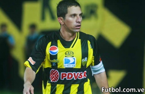 Gerzon Chacón se va del Deportivo Táchira. Foto: Gennaro Pascale / Prensa Deportivo Táchira