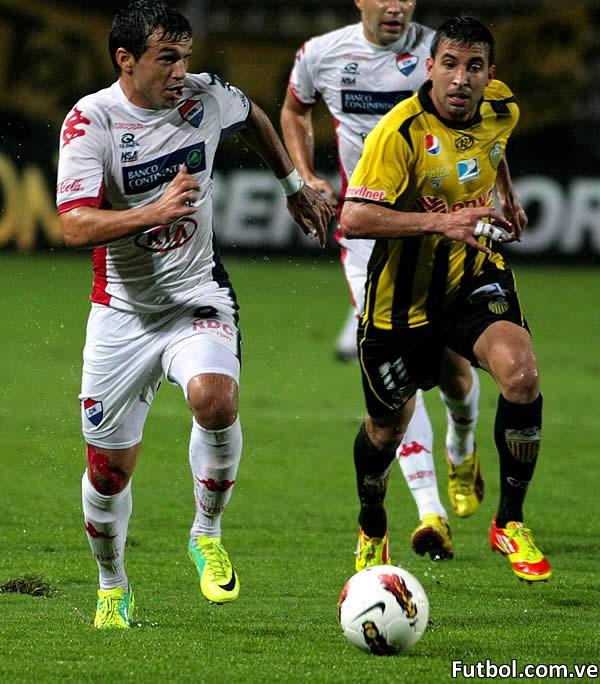 El empate beneficia a Nacional y al Deportivo Táchira le acabó con el sueño de continuar en la Copa Libertadores. Foto: Gennaro Pascale