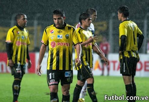 Táchira empató con Nacional de Paraguay y quedó fuera de la Copa Libertadores. Foto: Gennaro Pascale