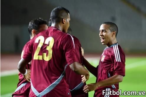 La Vintotinto celebra un gol