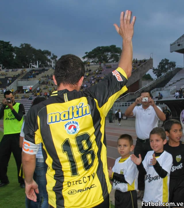 Gerzon Chacón, el más insigne capitán del Deportivo Táchira se va. Foto: Gennaro Pascale / Deportivo Táchira