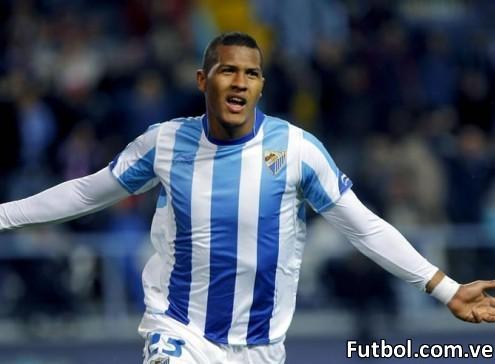 José Salomón Rondón jugará con el Málaga CF ante el Caracas FC y el Zamora FC
