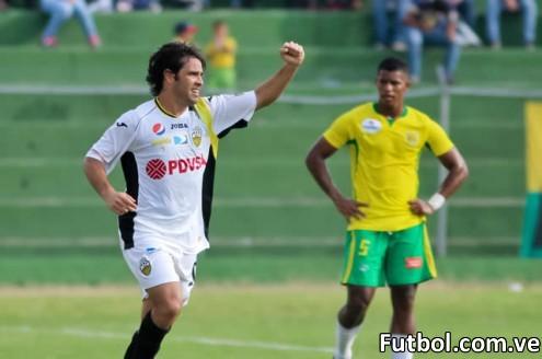El Deportivo Táchira logró llevarse la victoria ante El Vigía FC. Foto: Gennaro Pascale / Prensa Deportivo Táchira